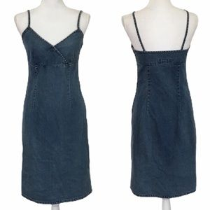 Old Navy | Vintage Denim Midi Dress Sz 4